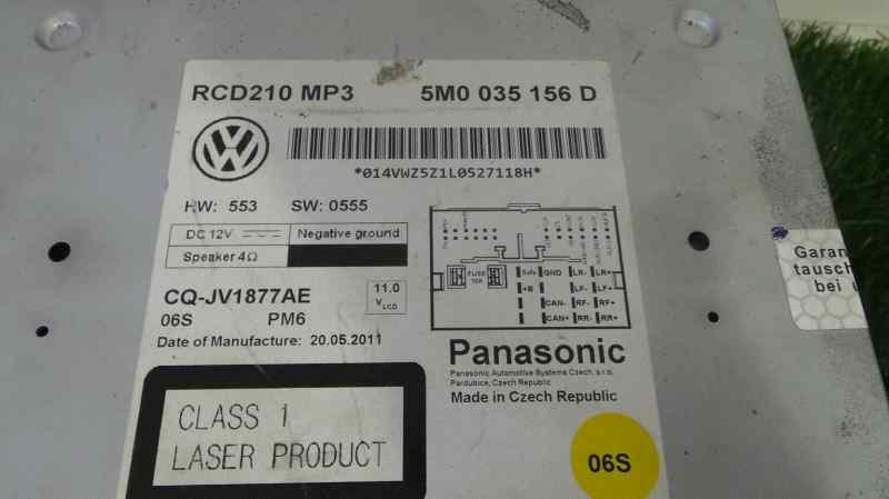 Mecanisme-audio-radio-volkswagen-polo-6c1-2009-1431687 miniature 2