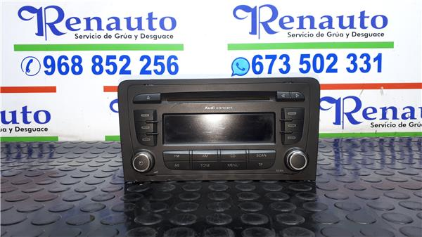 Radio-cd-audi-a3-8p-1-9-tdi-ambition-0-489034