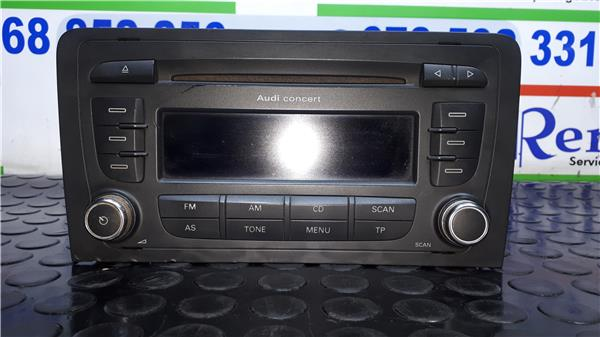 Radio-cd-audi-a3-8p-1-9-tdi-ambition-0-489034 miniatura 2
